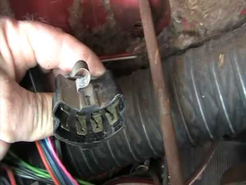 63 Impala Video 76 Turn Signal Switch Replacement Youtube