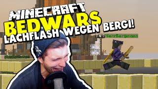 """LACHFLASH WEGEN """"OPA BERGMANN"""" -  ✪ Minecraft Bedwars Woche Tag 96 mit Herr Bergmann"""