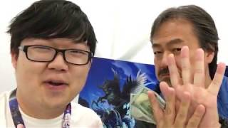 a special message from the creator of Final Fantasy
