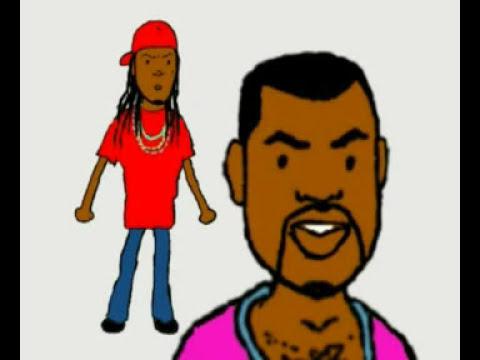 Kanye West & Lil Wayne - All I Do video