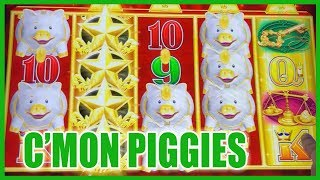 🐷💗 Piggy Love with Buffaloes + Jason!! 👬🎰 ✦ Slot Machine Pokies w Brian Christopher