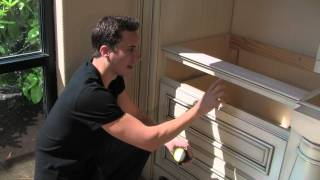How to measure drawer boxes for KV soft closing drawer slildes