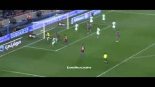 Andres Iniesta Great Passes against Real Betis [12.01.2011]