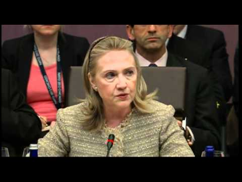 Hilliary Clinton Opening Statement at NATO Summit in Chicago