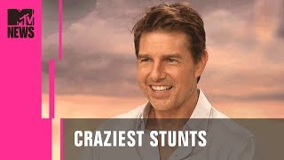 Tom Cruise's Craziest Stunts Ranked by Mission: Impossible Cast | MTV News