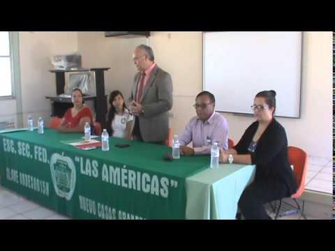Entrega Mesas en Secundaria las Amèricas