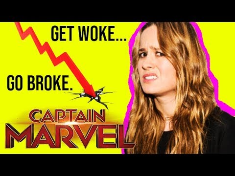BRIE LARSON GOES FULL SJW & LOSES 60 to 80 MILLION for CAPTAIN MARVEL'S OPENING WEEKEND!