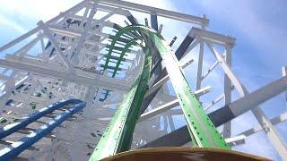 Twisted Colossus POV Six Flags Magic Mountain