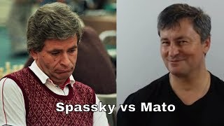 Boris Spassky vs Mato Jelic