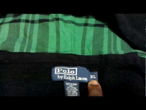 Polo Ralph Lauren......How To Spot Authentic POLO From FAKE POLO Vid...