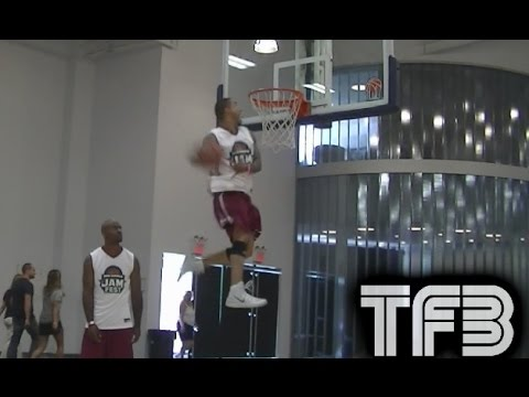 "5'10"" Brandon Matano is the next Dunking STAR! INSANE BOUNCE!"