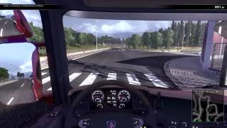 Scania Truck Driving Simulator cement mixer 2
