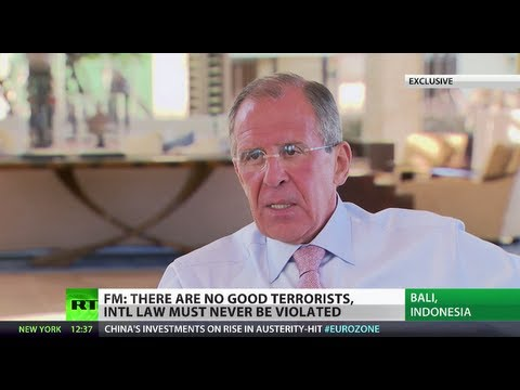 'Syria trending toward radical jihadists, not moderate rebels' - Lavrov (EXCLUSIVE)