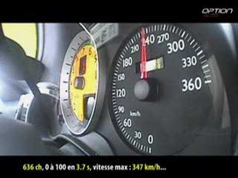 0 - 250 km/h : Ferrari F430 NovitecRosso (Option Auto)