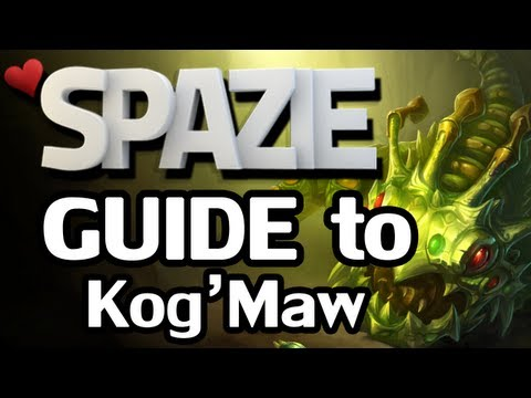♥ Guide to Kog'Maw [League of Legends]