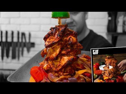Проверка рецепта: Гигантский кебаб (Гифка)