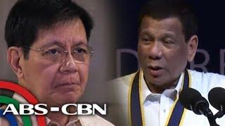 Ilang senador nadismaya sa pahayag ni Duterte ukol sa Recto Bank   TV Patrol