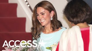 Kate Middleton Puts Modern Twist On Princess Diana's Vintage Style From Pakistan Tour