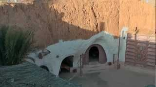 Скальные жилища в Матматы, Тунис