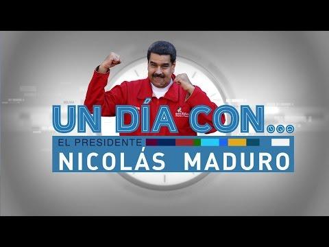 Un día con el presidente Nicolás Maduro