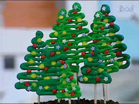 شجره البافلوفا وكيكه الاشجار - كريسماس مختلف علي فوود مع غفران كيالي