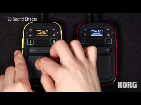 Mini Kaoss Pad 2 and Kaossilator 2 -- Overview and Comparison -- In The Studio with Korg