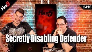 Disabling Defender With Viss Episode 1 - Hak5 2416
