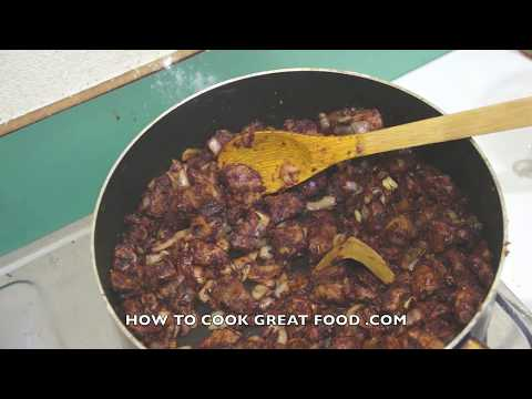 Carne Guisada Beef Stew Recipe   Mexican Spanish Cooking Video