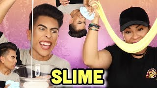 Trying To Make Slime With My MOM!! | Louie's Life