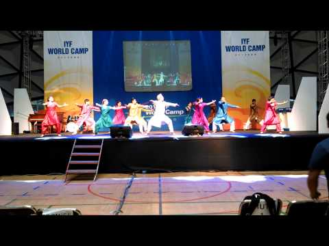 Bum Bum Bole (Rehearsal) IYF World Camp Mexico 2014