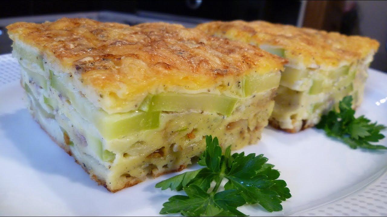 Пирог из кабачков рецепты