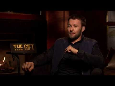 Joel Edgerton talks 'The Gift' and impersonates a baby
