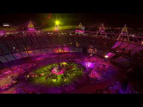 (HD) COLDPLAY RIHANNA PRINCESS OF CHINA CLOSING CEREMONY PARALYMPIC GAMES LONDON 2012