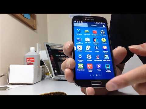 How to put Samsung Galaxy S4 into Diagnostic Mode and USB Debugging Mode