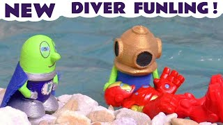 Funny Funlings New Diver Funling - A Fun toy story with Marvel Iron Man