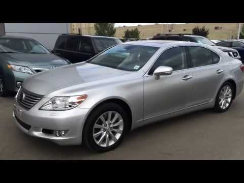 Lexus Certified Pre Owned Silver 2011 LS 460 AWD Technology Review - Stony Plain, Spruce Grove, AB