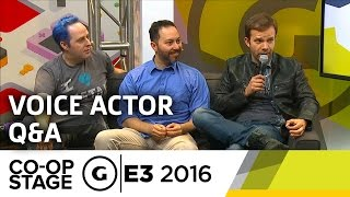 Critical Role Voice Actor Q&A - E3 2016 GS Co-op Stage