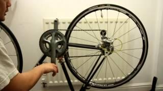 Fireflys bike LED Neon wheel safety lights.