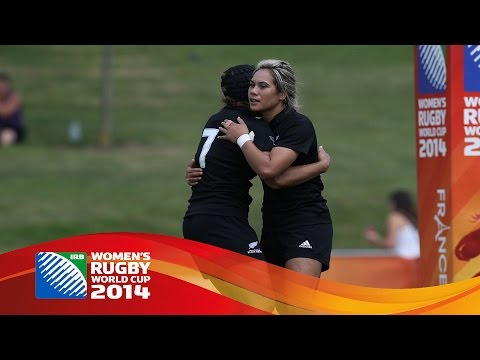 [HIGHLIGHTS] New Zealand 79-5 Kazakhstan at Women's Rugby World Cup