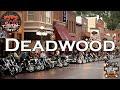 Deadwood South Dakota during Sturgis bike week
