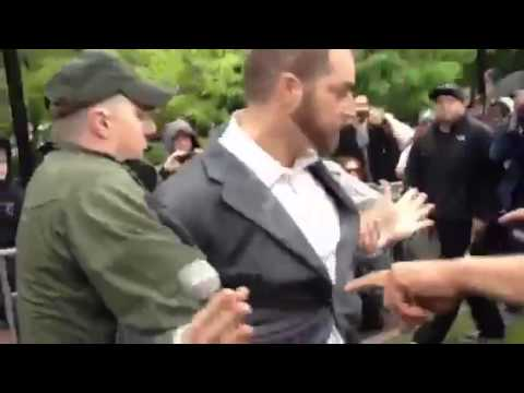 Footage: Adam Kokesh Getting Carried Away by Police at Pro-Marijuana Rally in Philly- May 18, 2013