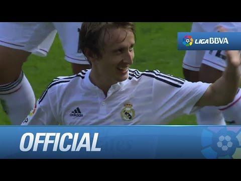 Amazing goal of Modric (0-1) Villarreal CF - Real Madrid