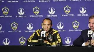 Landon DONOVAN breaks the MLS record | PRESSER