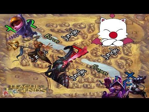League of Legends - El rayo destruye minions Kupó