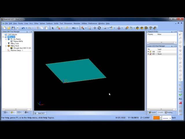 Simple Plasma Sample