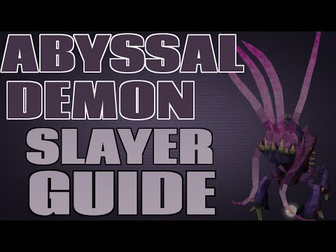Abyssal Demons Guide and Loot: 200k+ Slayer XP/Hour [Runescape 2014]