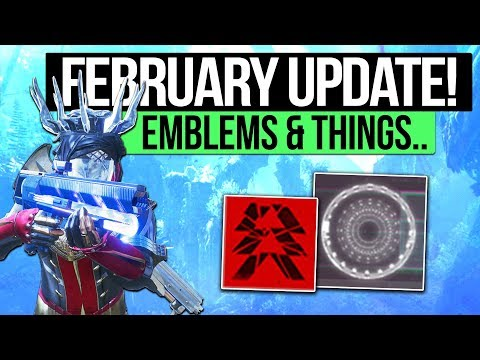 Destiny 2 News   FEBRUARY UPDATE DETAILS! - New Emblem System, Aura Perks & Why We Need Real Loot!