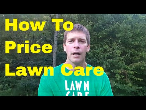 How to Price Lawn Care Services - How Much to Charge