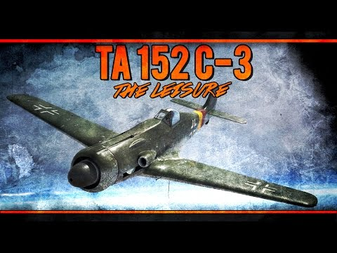 War Thunder RB Gameplay - Ta 152 C-3 - The Leisure of Props