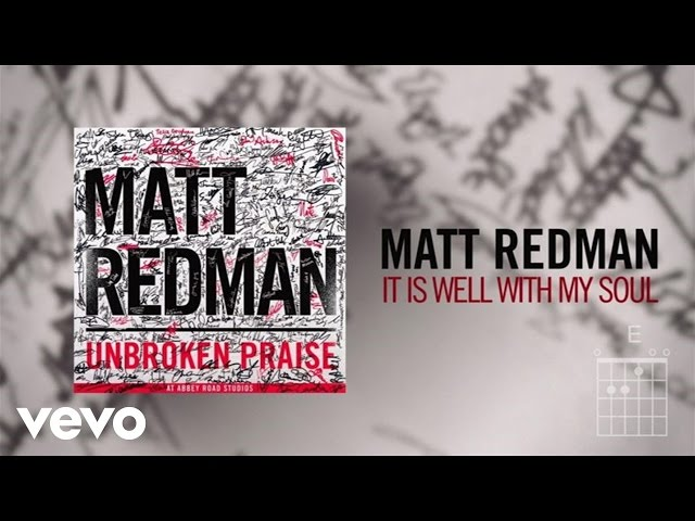 Matt Redman - It Is Well With My Soul (Live/Lyric Video)